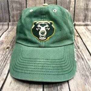 Baylor Bears franchise Green Strap Back Hat Cap 47 Brand Big 12 Sic ... c80180615