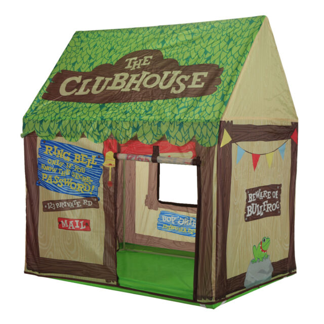 save off 11f93 07dca Kids Play Tent Children Playhouse Indoor Outdoor Tent Model Clubhouse Green