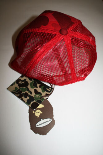 Carhartt × Tags Red O 2006 s With Hat Og Rare New Bape Trucker Cgqw6q1