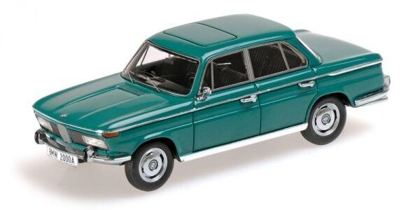 Bmw 2000a 1962 grüne 1 43 modell minichamps