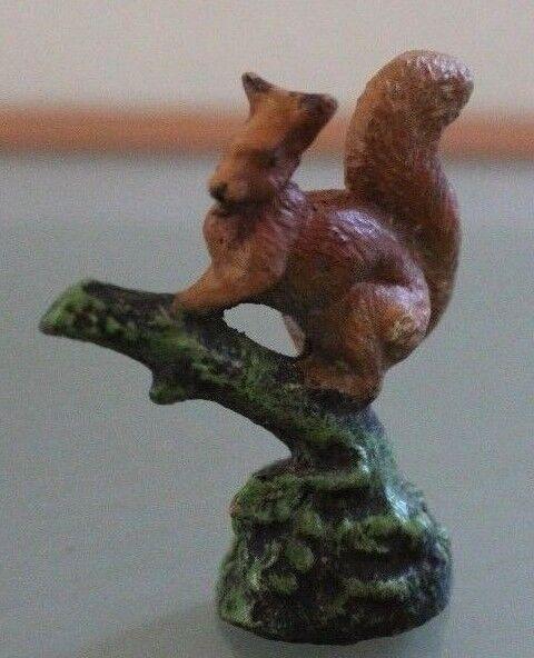 Spielzeug Antik Eichhörnchen Figürchen Zusammensetzung Elastolin Lineol