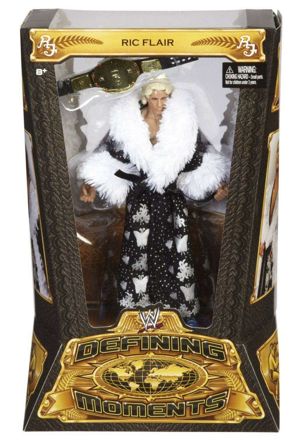 WWE Defining Moments Collection_Nature Boy RIC FLAIR 6   action figure_MIB & New