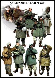 Figurine 2ème guerre Soldat allemand SA 1//32 F09