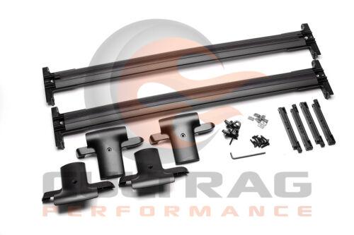2007-2010 Acadia Outlook Genuine GM Roof Rack Cross Rail Package Black 12499868