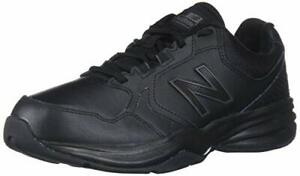 New-Balance-Men-039-s-MA411LW1-Leather-Low-Top-Lace-Up-Black-Black-Size-16-0-Dypv