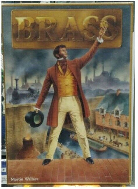 Brass, Boardgame by Martin Wallace, USED, by Eagle Games, English French Edition