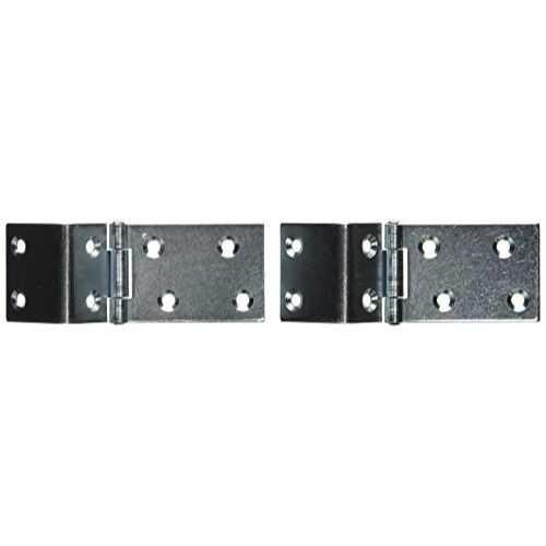 """National Hardware V550 1-1//2/"""" X 3//4/"""" Zinc Plated Chest Hinges"""