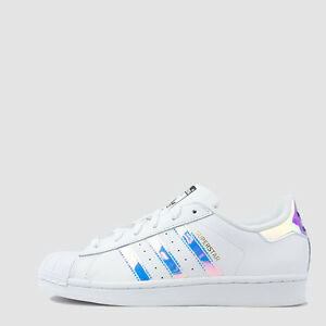 adidas Originals Womens Superstar Slip on Shoes Navy Blue US 7.5