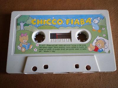 Fornitura Musicassetta Chicco Fiaba Made In Italy Bambini Pubblicità Musica Anno ? Rarità Elevato Standard Di Qualità E Igiene