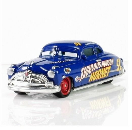 mattel disney pixar cars fabulous doc hudson hornet. Black Bedroom Furniture Sets. Home Design Ideas