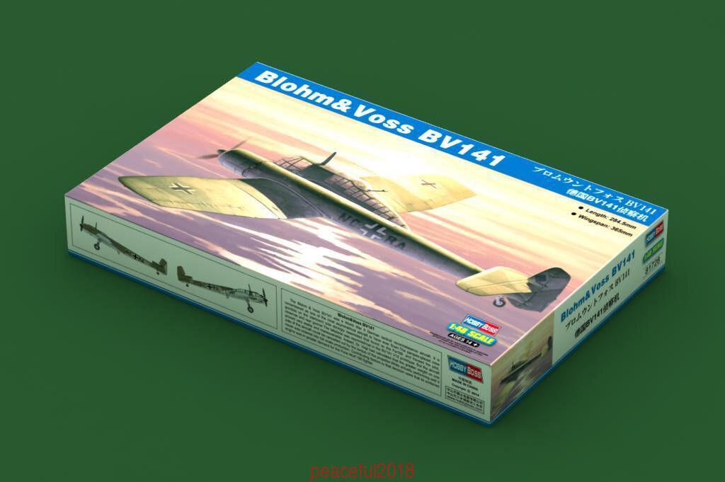 Hobbyboss 81728 1 48  Blohm & Voss BV-141 Model kit