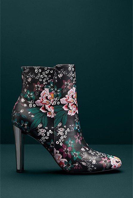NIB  270 Designer WITCHERY Limited Edition Harper Harper Edition LEATHER BOOTS Italian 39 / 8 9cfebe