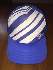 Bud Light Mens Washed Twill Mesh Back Trucker Hat Blue One Size for ... d15776b5b0e0