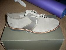 Mens Timberland A19GH Brooklyn Park Ortholite Leather Suede shoes size 11.New