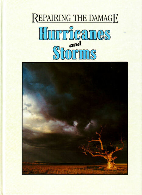 REPAIRING THE DAMAGE HURRICANES AND STORMS childrens book kids book thunder fire