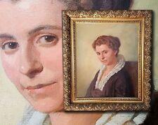 PAUL EHRENBERG 1876 Dresden Lindau TOP Art nouveau Biedermeier Women's portrait