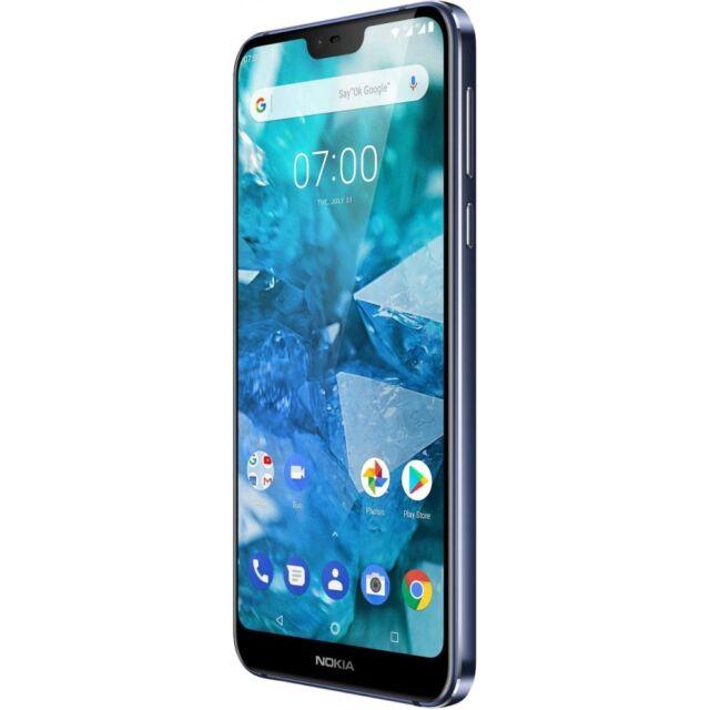 Nokia 7.1 32GB blue Android Smartphone Handy LTE/4G 3GB RAM ohne Vertrag