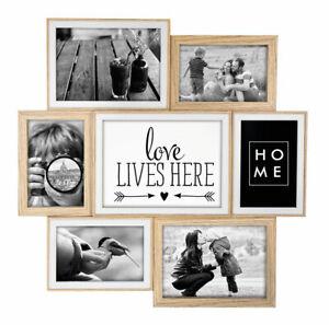 Haus Fotorahmen Fotogalerie Bilderrahmen Metall Rahmen Collage Fotos 5 Bilder