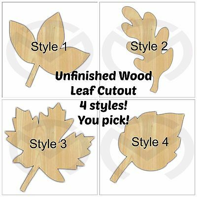 Unfinished Wood Christmas Tree Laser Cutout Door Hanger 3 styles Paint Ready