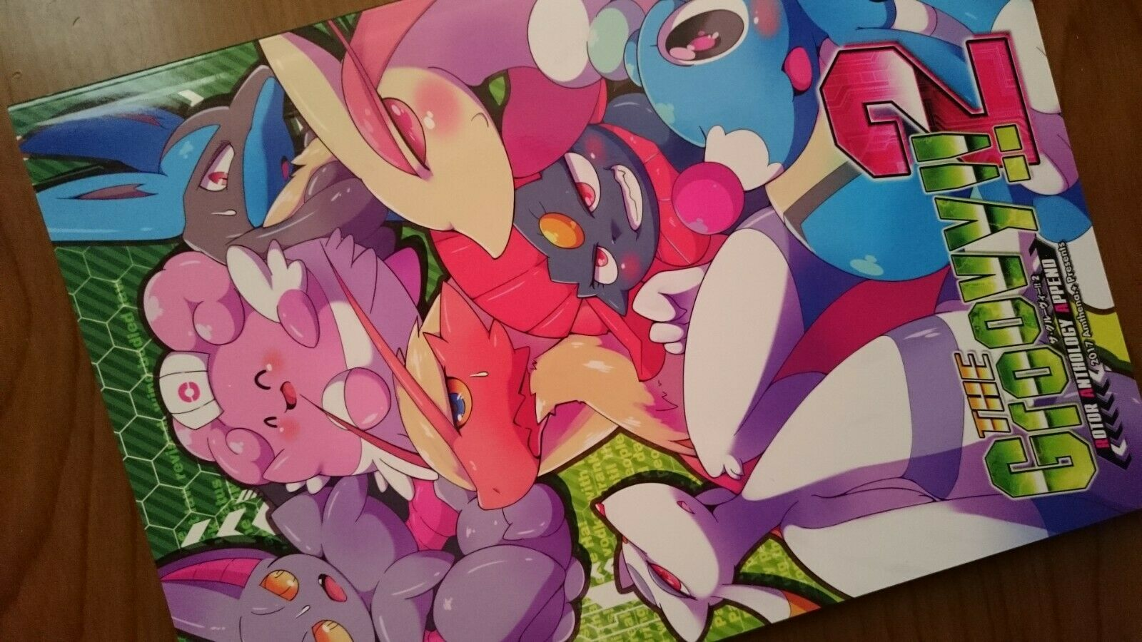 Pokemon Doujinshi The Groovy   2 (A5 60pages) Lucario Weavile Amthena Furry