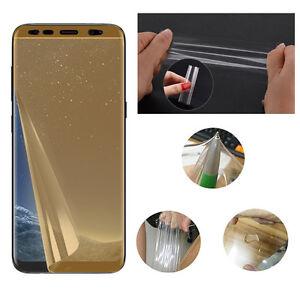 Soft-TPU-Screen-Protector-Film-protecteur-amp-ecran-Samsung-Galaxy-S8-S8-Plus