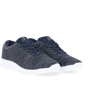 Trespass-Barrow-Mens-Memory-Foam-Low-Cut-Trainers-Lightweight-Navy-Shoes