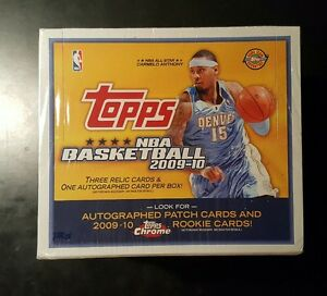 Details About 2009 10 Topps Chrome Basketball Unopened Jumbo Box Stephen Curry Rc Refractor