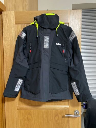 Women/'s GILL OS2 Offshore Jacket In Black//Graphite UK10