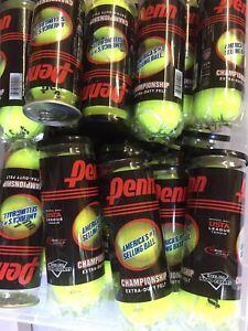 Penn Championship Tennis Balls 12 Cans Extra Duty Felt 36 Ball Pack