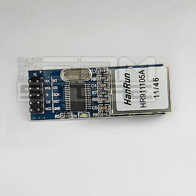 MINI Modulo Ethernet LAN con ENC28J60 compatibile con arduino e pic - ART. CL09