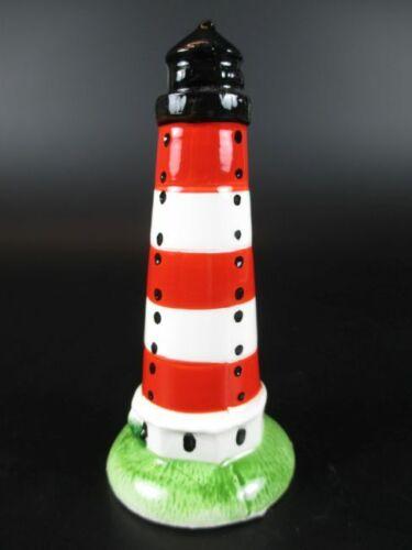 Leuchtturm Ostsee,10 cm aus Keramik Glanzoptik Souvenir Modell,Neu