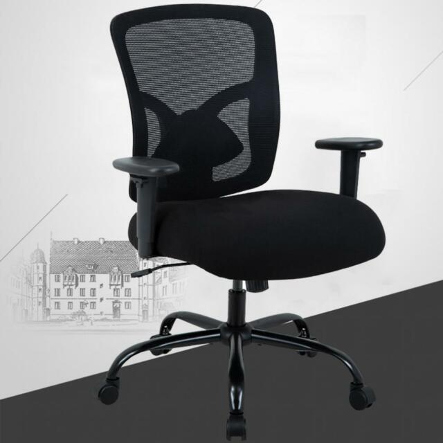 Outstanding Bestoffice Office Chair Desk Ergonomic 400Lb Black Theyellowbook Wood Chair Design Ideas Theyellowbookinfo