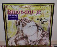 Dinosaur Jr. - You're Living All Over Me Lp Black Vinyl & Sealed