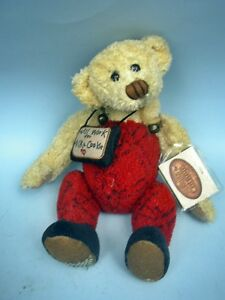 "Ganz 11"" Wishy the Bear With Hang Tag 2003"