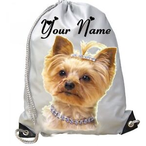SWIMMING WEST HIGHLAND TERIER  DOG PUPPY PERSONALISED GYM GIFT DANCE BAG