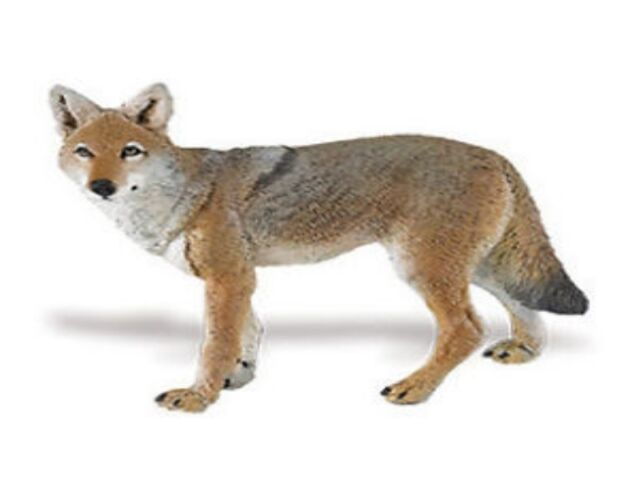 Coyote Kojote 9 cm Serie Wildtiere Safari Ltd 227229