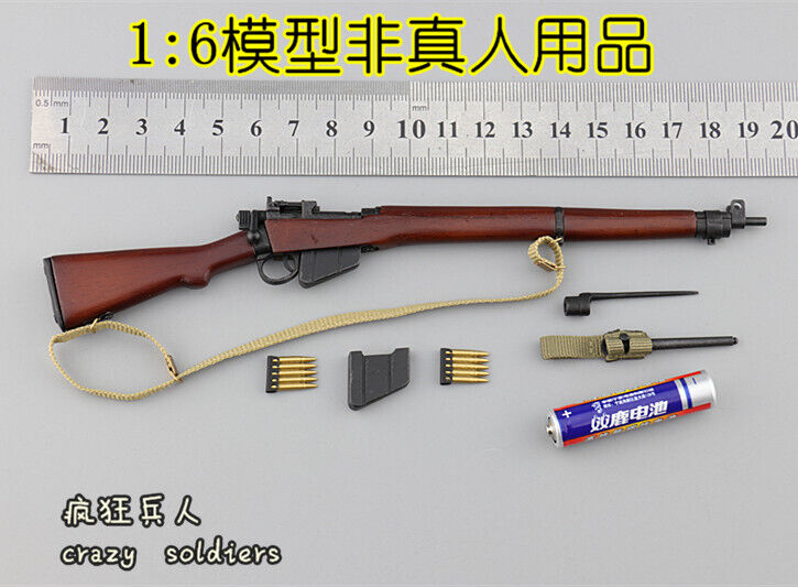 Charlie  Lee-Enfield Rifle for DID K80136 WWII British 1st Airborne rosso Devils  Nuova lista
