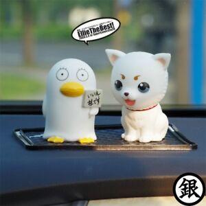 Gintama Sadaharu Elizabeth Car Standing Decoration Pendant