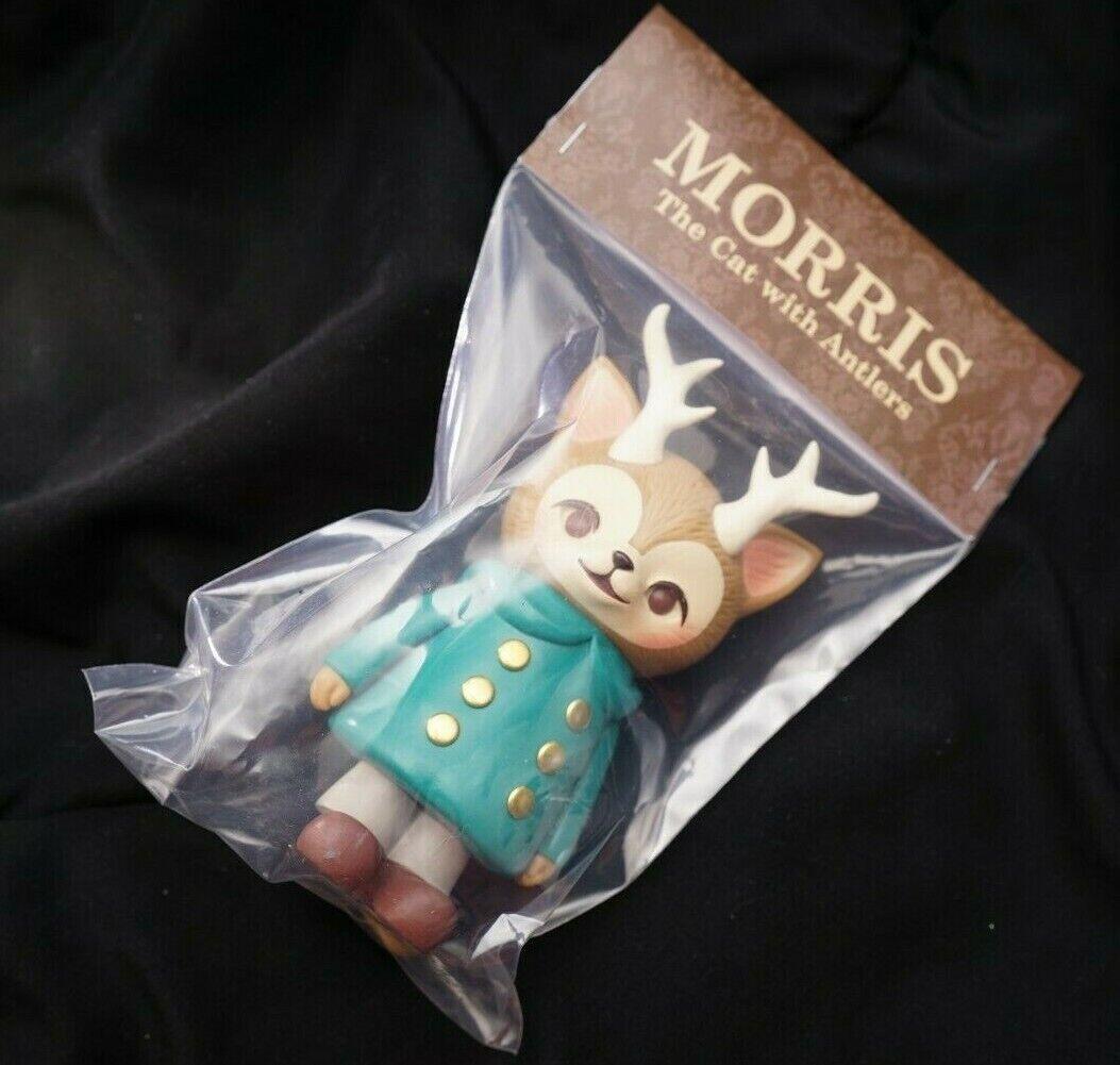 Morris the Cat with Antlers Kaori  HInata verde Five Points Fest EXCLUSIVE    Ritorno di 10 giorni