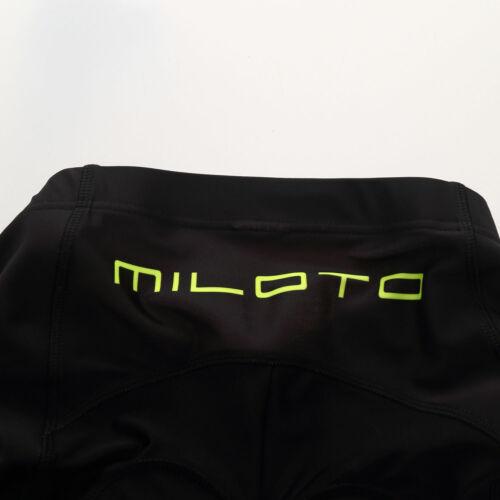 Miloto Herren Radtrikot Kurzarm Rad Shorts Gepolstert Rennrad Bekleidung Set