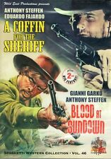 A Coffin For The Sheriff & Blood At Sundown DVD double bill Wild East Production