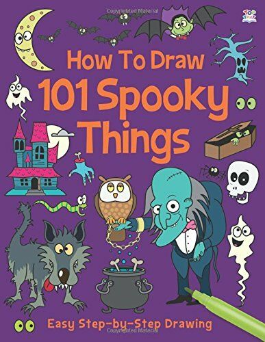 1 of 1 - How to Draw 101 Spooky Things by Green, Barry 1849569894 The Cheap Fast Free