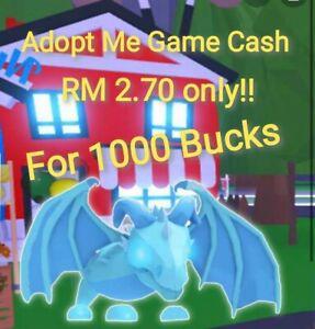 Roblox Adopt Me Game Cash (RM13.50 for 5000 Bucks)
