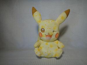 2016-TOMY-Pikachu-Winking-Plush-Pokemon-20th-Anniversary-Stuffed-Figure