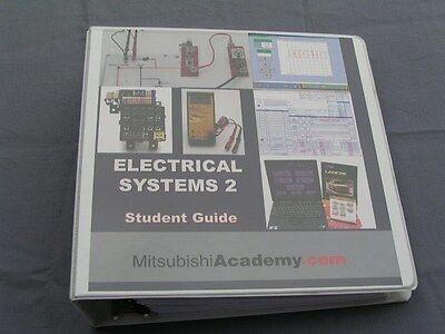Mitsubishi Motors Evo Eclipse Electrical system 2 Factory OE manual repair book