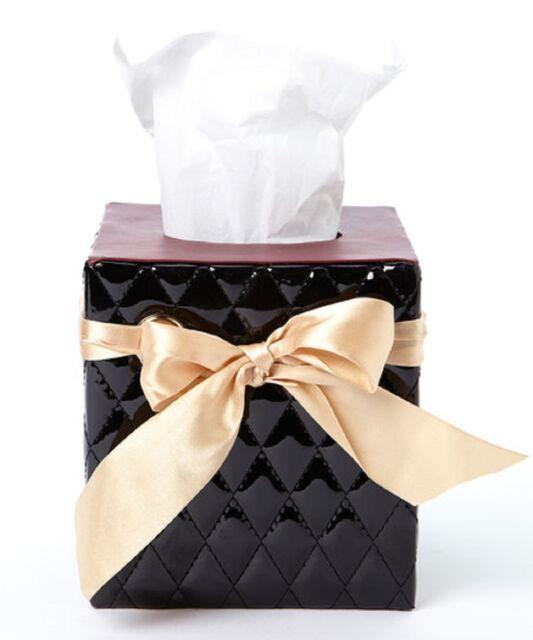 Saturday Knight Chantilly Tissue Box Cover handbag shaped