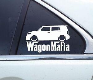 for Scion XB 2nd gen Lowered WAGON MAFIA sticker 2008-2015