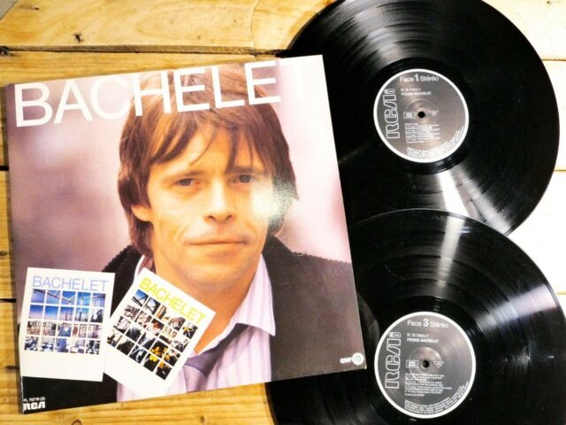 PIERRE BACHELET BACHELET 2 33T VINYLE LP EX COVER EX ORIGINAL 1985 GATEFOLD