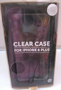 online retailer ffe1f 6f0f7 Target Clear case for Iphone 6 Plus. Brand new.   eBay