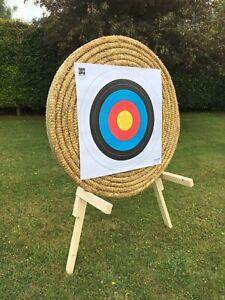 Egertec Large 3D Archery Fun Shoot Target Faces 5 Pack ** Snakes /& Ladders **